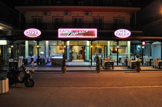 CAFE – PIZZA  CAPRICE