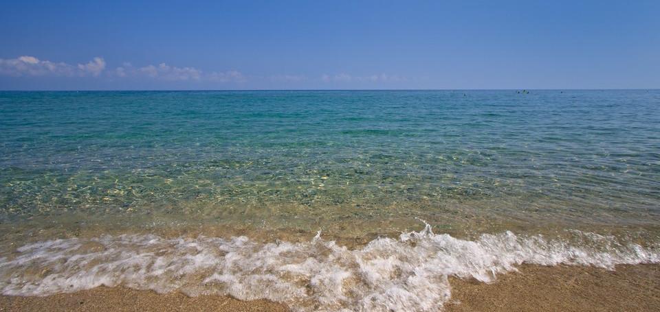 Η παραλία των Νέων Πόρων