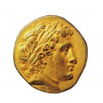 Ancient Pydna - Coin of Alexander the Great