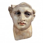 Marble head of Alexander the Great