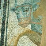 mosaic Bull at Dion